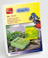 Komplett-Set Soap-Fix Oliven